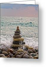 Stacking Stones Greeting Card