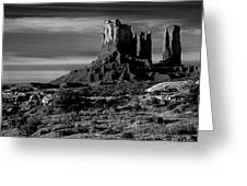 Stagecoach Rock Monument Valley Greeting Card