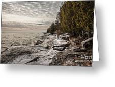 Staggering Shores Greeting Card