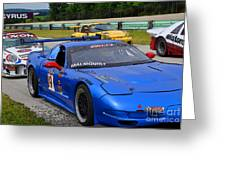 Staging Line At Road America Greeting Card