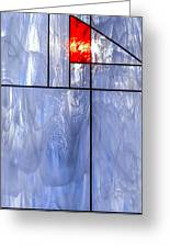 Stained Class  Greeting Card