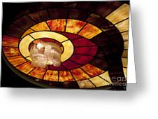 Stained Glass Art Greeting Card