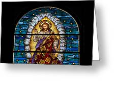 Stained Glass Pc 03 Greeting Card