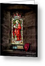 Stained Glass Window 2 Greeting Card