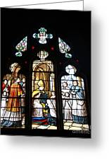 Stained Glass Window V Greeting Card