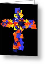 Stained Tries 16 Greeting Card