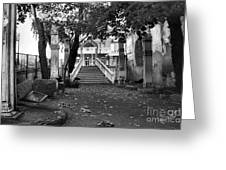 Stair Case  Greeting Card