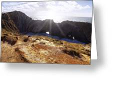 Stair Hole Cove Dorset Greeting Card