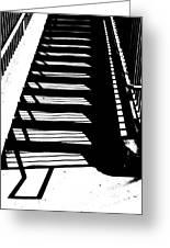 Stair Shadow Greeting Card