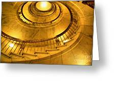 Stair Way To Justice Greeting Card