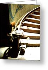 Staircase Going Up Greeting Card