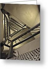 Stairing Up The Spinnaker Tower Greeting Card
