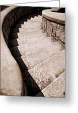Stairs At Maymont Greeting Card