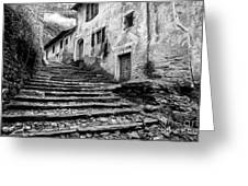 Stairs To Lavertezzo Greeting Card