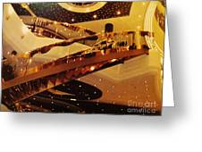 Stairs To The Stars Greeting Card