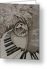 Stairway Il Greeting Card by Jacquelyn Roberts