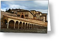 Stairway To Assissi Greeting Card