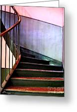 Stairway To Cezanne Atelier Greeting Card