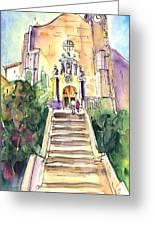 Stairway To Heaven In Llansa Greeting Card