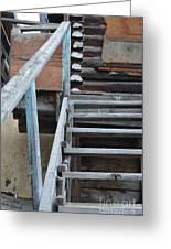 Stairway To Humdrum Greeting Card