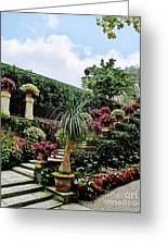 Stairway To Isola Bella Greeting Card
