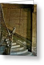 Stairway To La Guarida Greeting Card