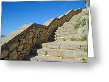 Stairway To Palamidi Greeting Card