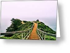 Stairway To Stinson Greeting Card