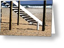 Stairway To Summer  Greeting Card