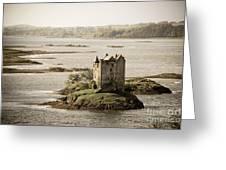 Stalker Castle Vintage Greeting Card