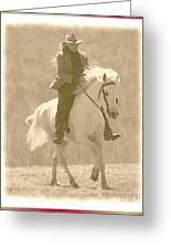 Stallion Strides Greeting Card