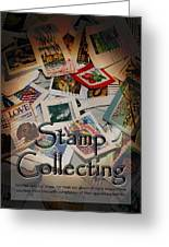 Stamp Colleting Greeting Card