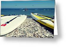 Stand Up Paddle Boards Greeting Card