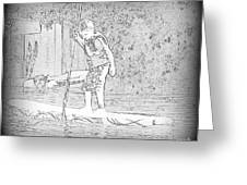Stand Up Paddle  Greeting Card
