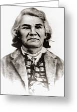 Stand Watie (1806-1871) Greeting Card