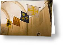 Standards Of The Knights Of The Templar Greeting Card