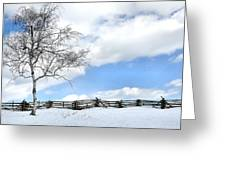 Standing Alone Greeting Card