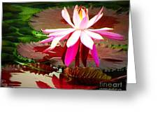 Standing Beauty Greeting Card