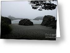 Standing Strong Against The Tide Greeting Card