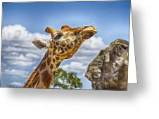 Standing Tall V3 Greeting Card
