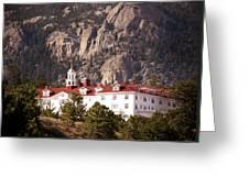 Stanley Hotel Estes Park Greeting Card