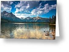 Stanley Lake Greeting Card