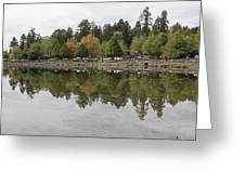 Stanley Park In Vancouver Bc Canada Greeting Card