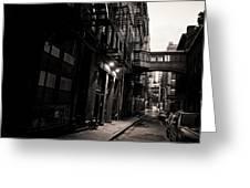 Staple Street - Tribeca - New York City Greeting Card by Vivienne Gucwa