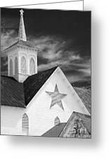 Star Barn Star Greeting Card