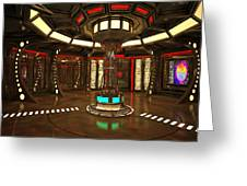 Star Drive Accelerator Greeting Card