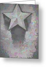 Star Greeting Card