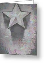 Star Greeting Card by Kristi Swift