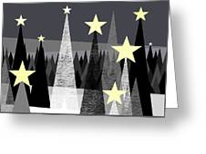 Star Light - Star Bright Greeting Card by Val Arie