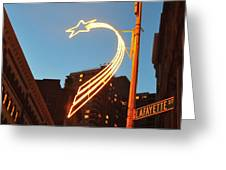 Star Of Lafayette Greeting Card